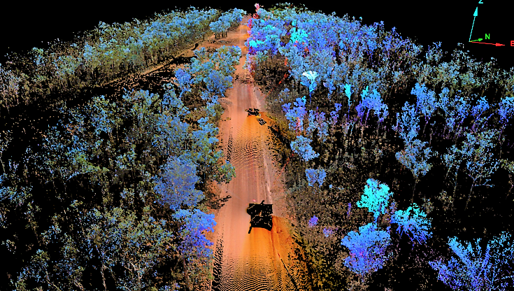I-Site Laser Scanner – New road alignment design