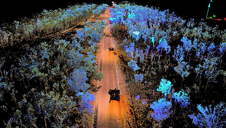 I-Site Laser Scanner – New road alignment design